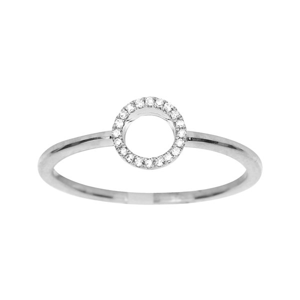 LIMITED QUANTITIES Diamond-Accent 14K White Gold Ring