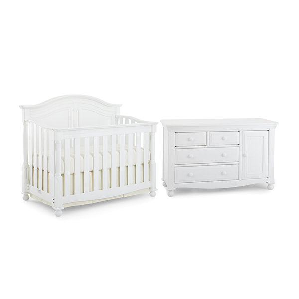 Bedford Baby 2-pc. Monterey Room Package - White