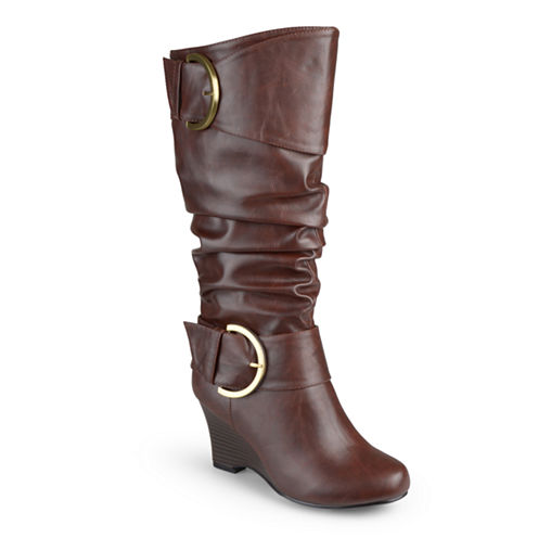 Journee Collection Womens Slouch Boots