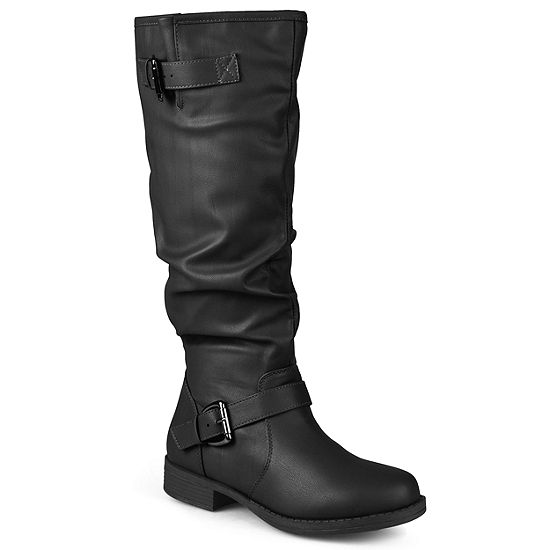 new lifestyle how to orders choose authentic Journee Collection Wide Calf Womens Riding Boots