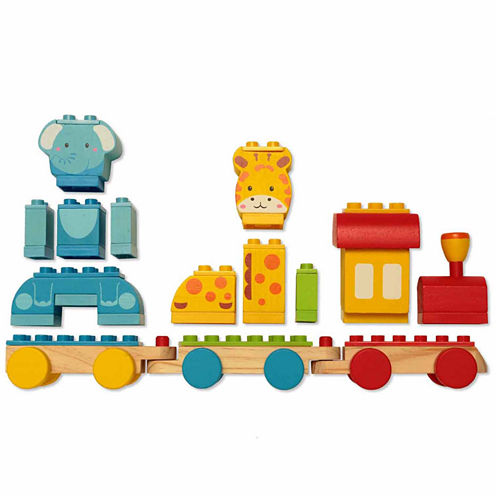 Dream Blocks Animal Train Building Blocks