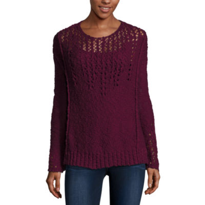 Arizona Bell Sleeve Sweater-Juniors