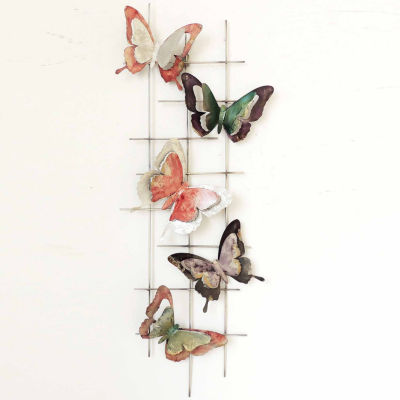 Butterflies Left Wall Decor
