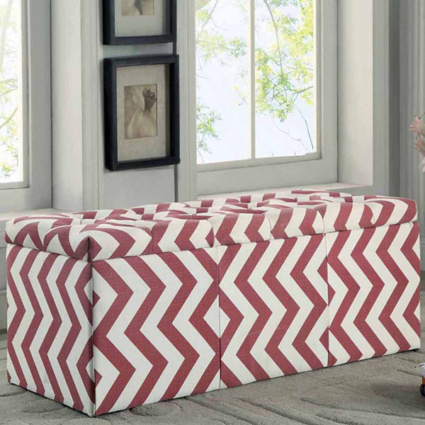 Fairway Contemporary Storage Bench