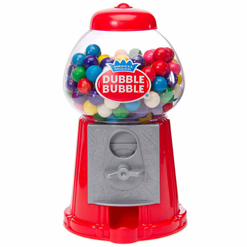 Dubble Bubble Classic Gumball Machine with Gumballs