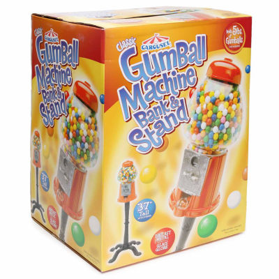 Carousel Classic Gumball Machine and Stand
