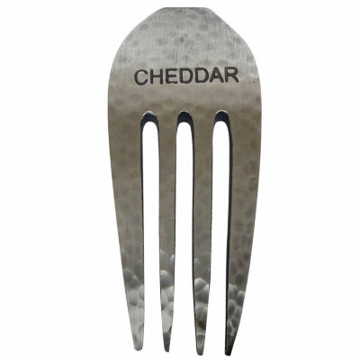 Epicureanist Rustic Chedder Fork Cheese Markers