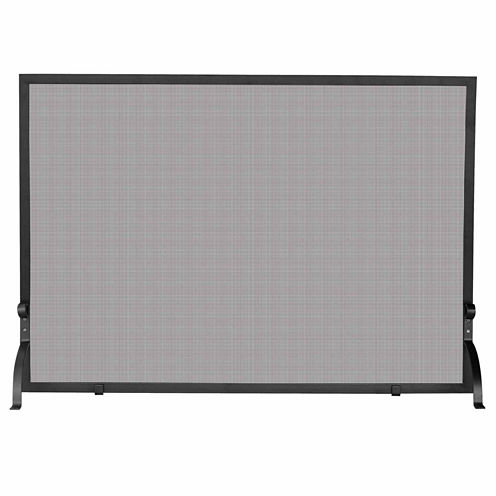 Blue Rhino Single Panel Olde World Iron Fireplace Screen