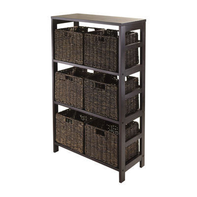 Winsome Granville 7pc Storage Shelf Set