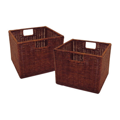 Leo Set of 2 - Wired Basket