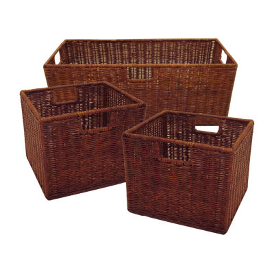Leo Set of 3 Wired Baskets