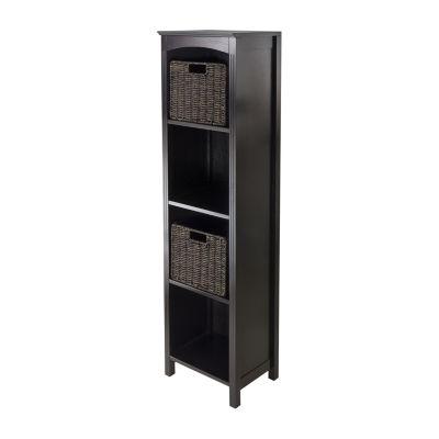 Winsome Terrace 3pc - Storage 5 Tier Shelf Set