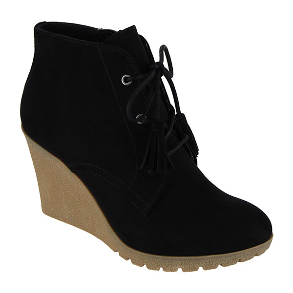 Mia Girl Bayly Womens Lace Up Boots