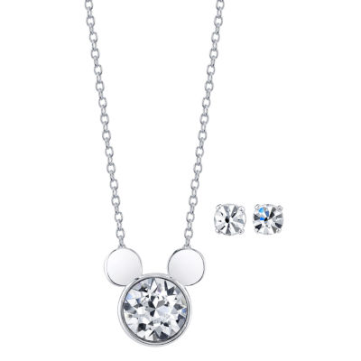 Disney Womens 2-pc. Necklace Set