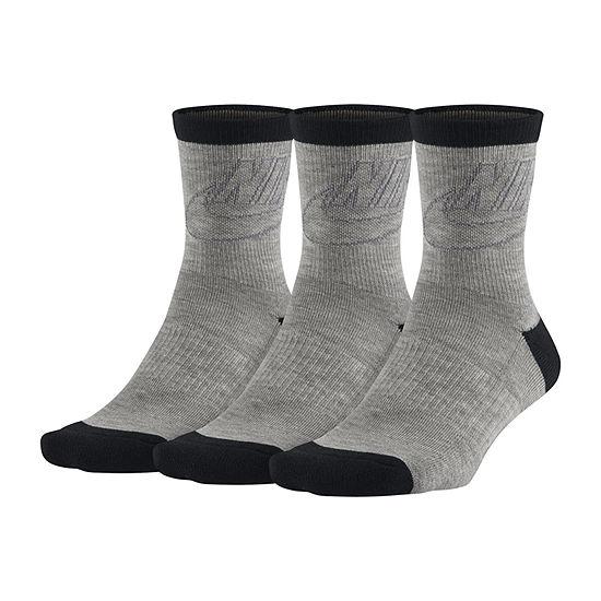 Nike 3-pc. Crew Socks Womens