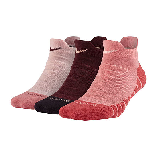 Nike 3-pc. Low Cut Socks Womens