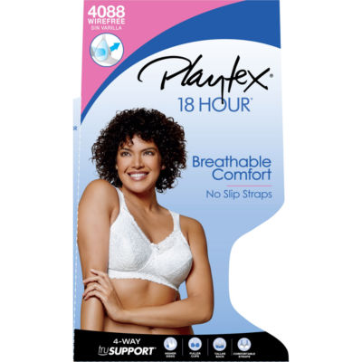 Playtex® 18-Hour® Comfort Lace Wireless Bra - 4088