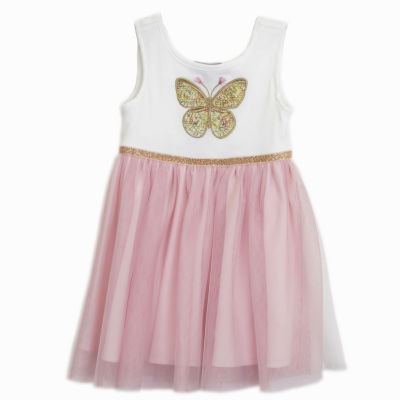 Lilt Sleeveless Butterfly Tutu Dress - Baby Girls