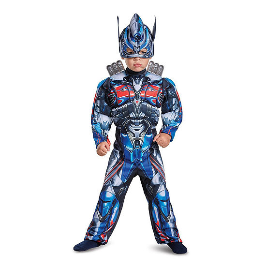 Transformers - Optimus Prime Muscle Costume - Toddler Boys 3T-4T
