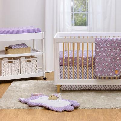 Lolli Living Chevron Chenille Baby Blanket - Purple