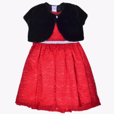 Nanette Baby Jacket Dress Toddler Girls