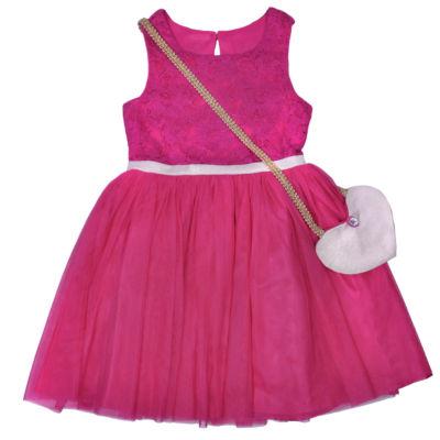 Nanette Baby Sleeveless Skater Dress - Preschool Girls