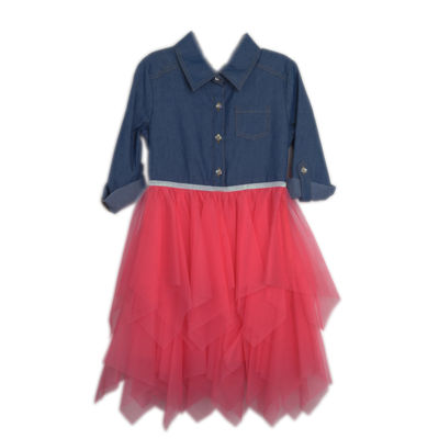 Lilt 3/4 Sleeve Tutu Dress - Preschool Girls