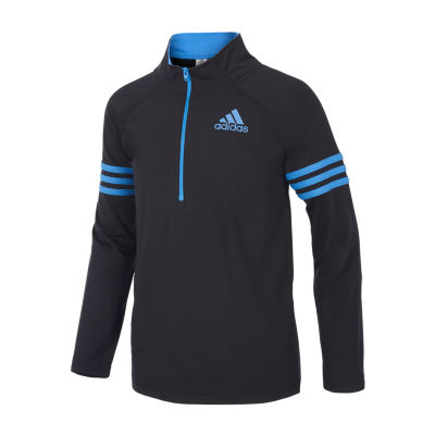 adidas quarter zip. adidas quarter-zip pullover - big kid boys quarter zip 3