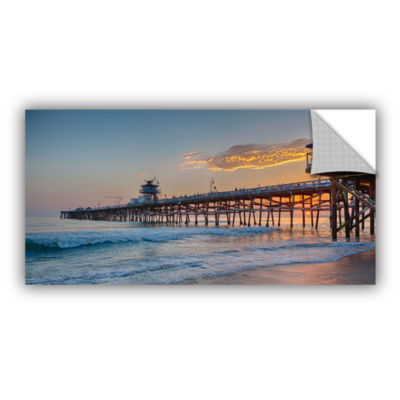 Brushstone There Will Be Another One San ClementePier Sunset Removable Wall Decal
