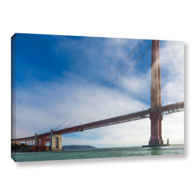 Brushstone Too Tall Gallery Wrapped Canvas Wall Art