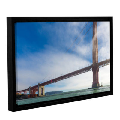 Brushstone Too Tall Gallery Wrapped Floater-FramedCanvas Wall Art