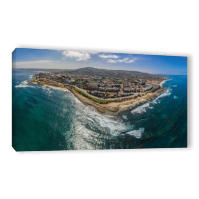 Brushstone Up At La Jolla A Gallery Wrapped CanvasWall Art