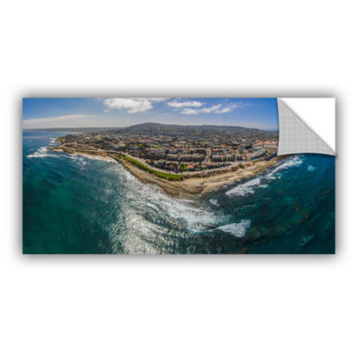Brushstone Up At La Jolla A Removable Wall Decal