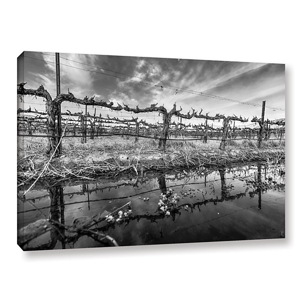 Brushstone Winter Wine Gallery Wrapped Canvas WallArt