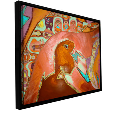 Brushstone Navezgane Gallery Wrapped Floater-Framed Canvas Wall Art