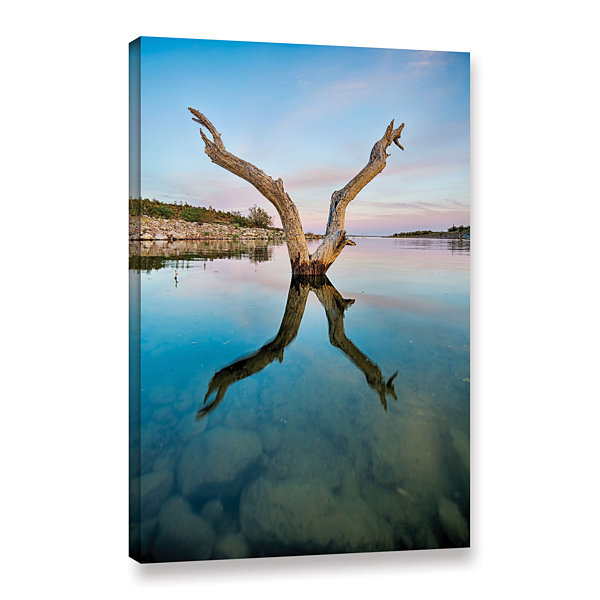 Brushstone X Gallery Wrapped Canvas Wall Art