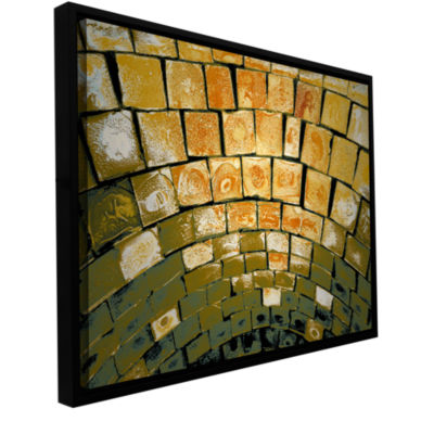 Brushstone Simple Puzzle Gallery Wrapped Floater-Framed Canvas Wall Art