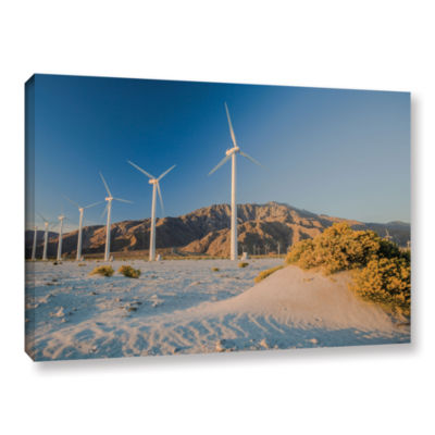Brushstone Quiet Sunrise Means No Power Gallery Wrapped Canvas Wall Art