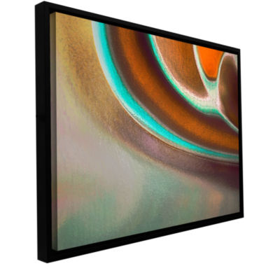 Brushstone Taku Gallery Wrapped Floater-Framed Canvas Wall Art