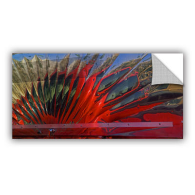 Brushstone Reflection In A Taco Truck Removable Wall Decal