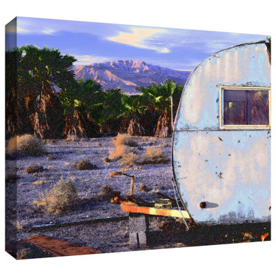 Brushstone The Last Resort Gallery Wrapped CanvasWall Art