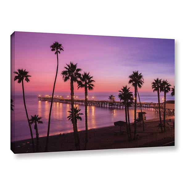 Brushstone San Clemente Sunset Meditation GalleryWrapped Canvas Wall Art