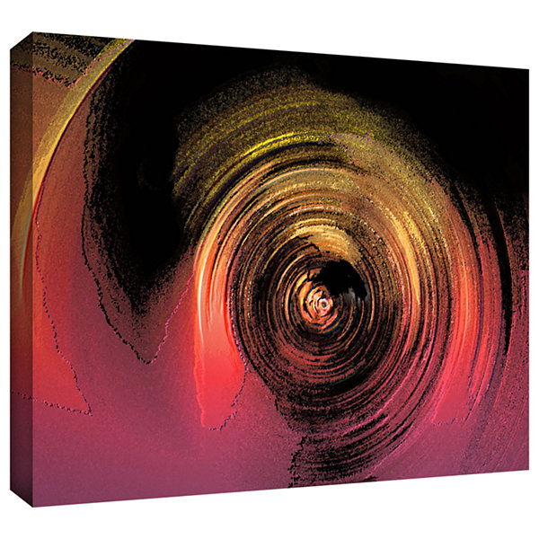 Brushstone The Memory Stone Gallery Wrapped CanvasWall Art