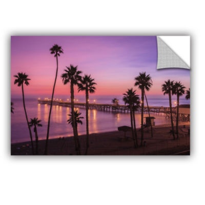 Brushstone San Clemente Sunset Meditation Removable Wall Decal