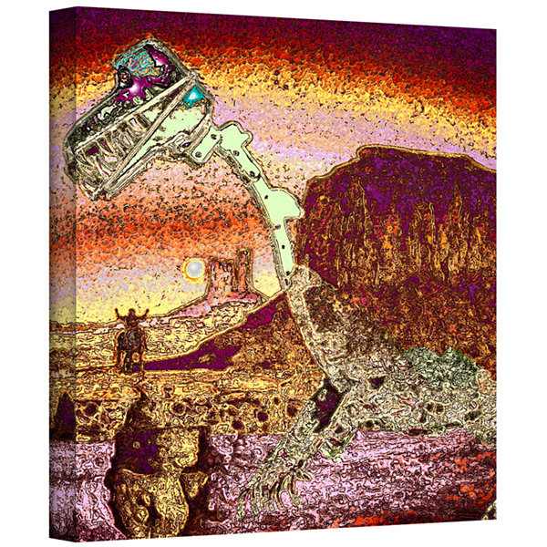 Brushstone The West Was Lost Gallery Wrapped Canvas Wall Art