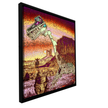 Brushstone The West Was Lost Gallery Wrapped Floater-Framed Canvas Wall Art