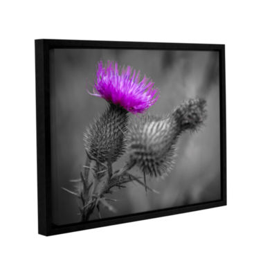 Brushstone Scotland Calls 1 Gallery Wrapped Floater-Framed Canvas Wall Art