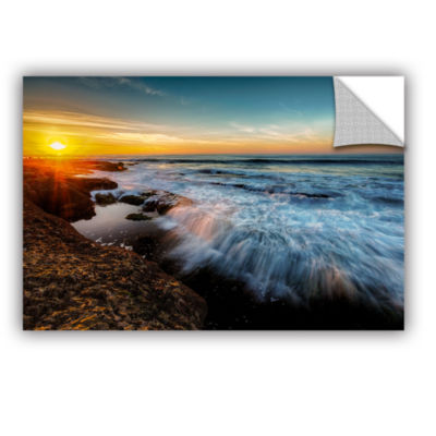 Brushstone La Jolla New Year King Tide 3 RemovableWall Decal