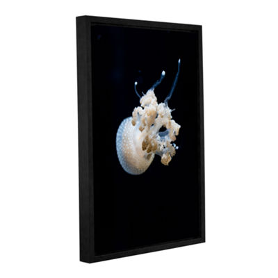 Brushstone Spotted Jelly Gallery Wrapped Floater-Framed Canvas Wall Art