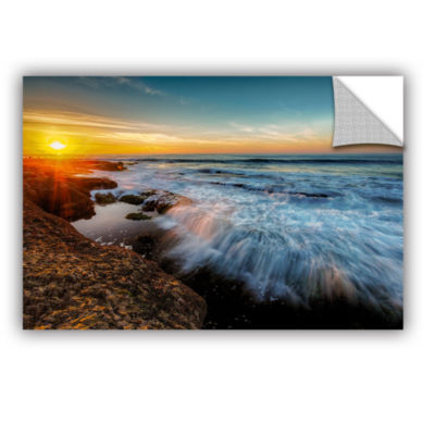 Brushstone La Jolla New Year King Tide 3B Removable Wall Decal